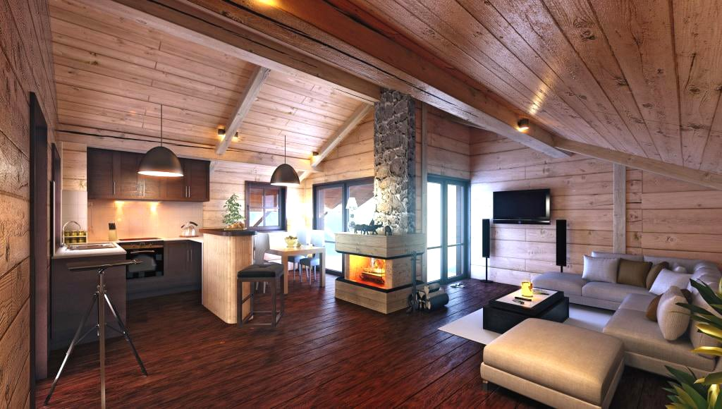 Les Balcons Apartments and Chalets for sale Meribel in the ...
