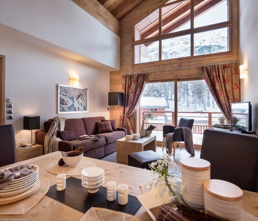Four Star Leaseback Ski Apartments For Sale In Tignes 5 ...