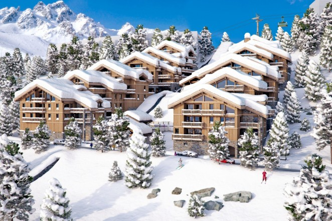 Luxurious Ski Apartments For Sale In, Courchevel 1650, Three Valleys 1