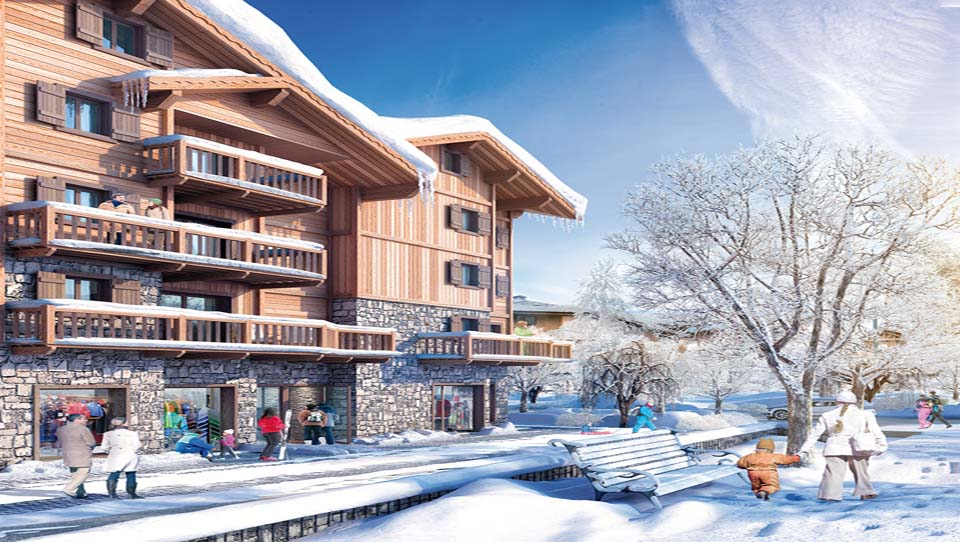 Luxurious Ski Apartments For Sale In Samoens 0 | Skiing ...