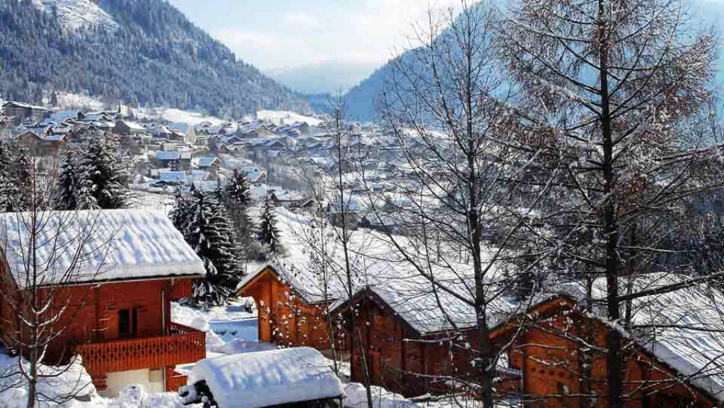 Luxurious Leaseback Ski Apartments For Sale In Chatel ...