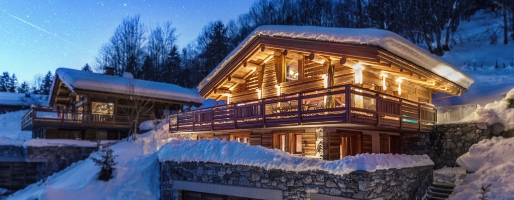 two free hold ski chalets for sale in la clusaz skiingproperty