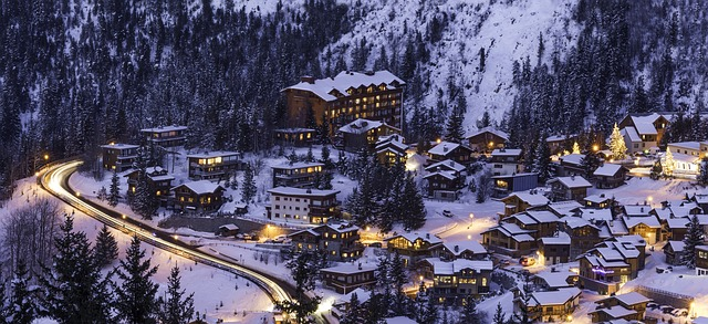 luxury ski resorts in France
