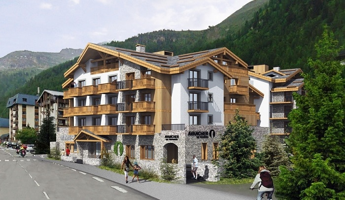 Leaseback ski property