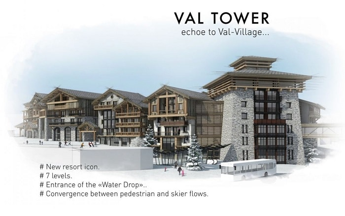 Val tower