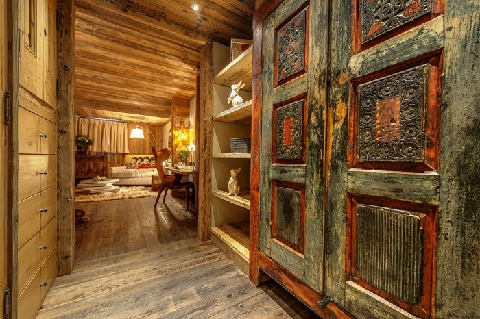 Inside a luxury french alpine chalet