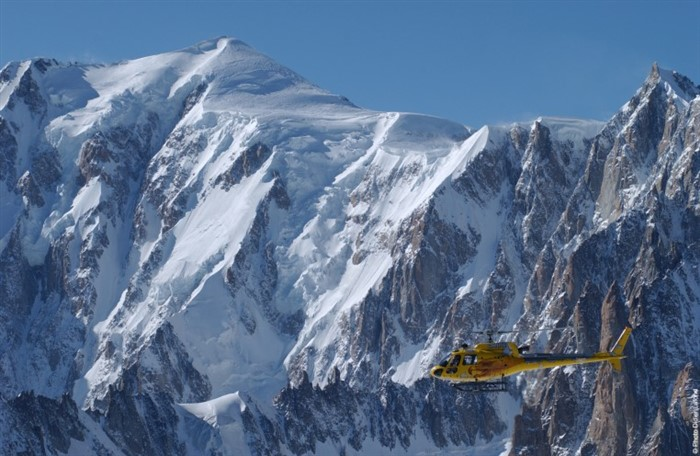 Chamonix helicopter rides
