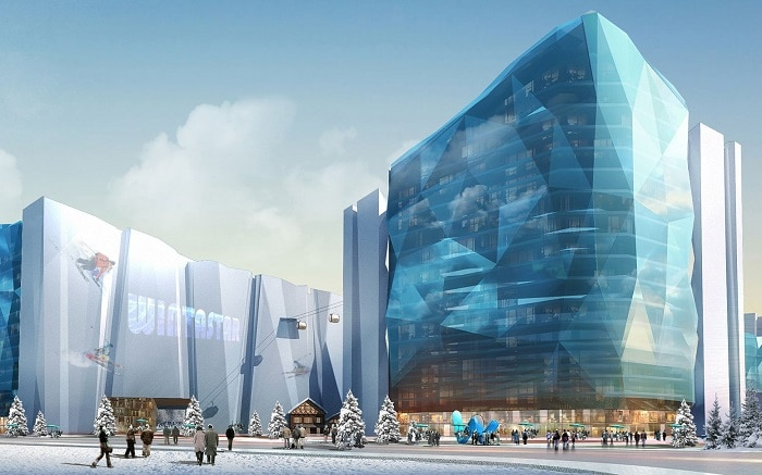 World's Largest Indoor Ski Resort Will Open in Shanghai