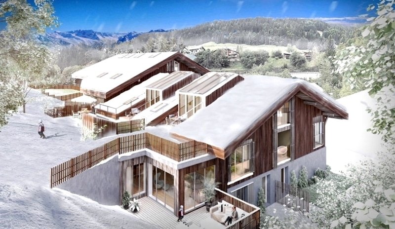 Family Ski Apartments For Sale In Morzine Ski Resort ...