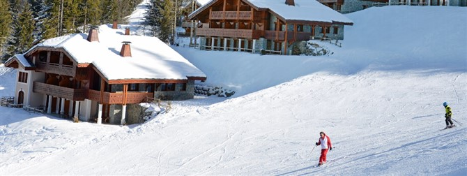 Where do British skiers go in France