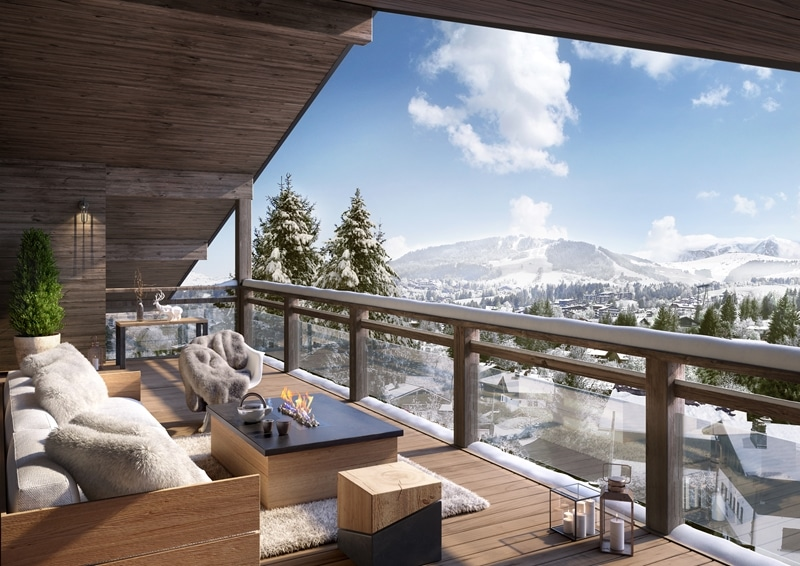 Luxury French alp real estate