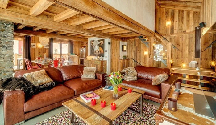 Alpine property in Courchevel France