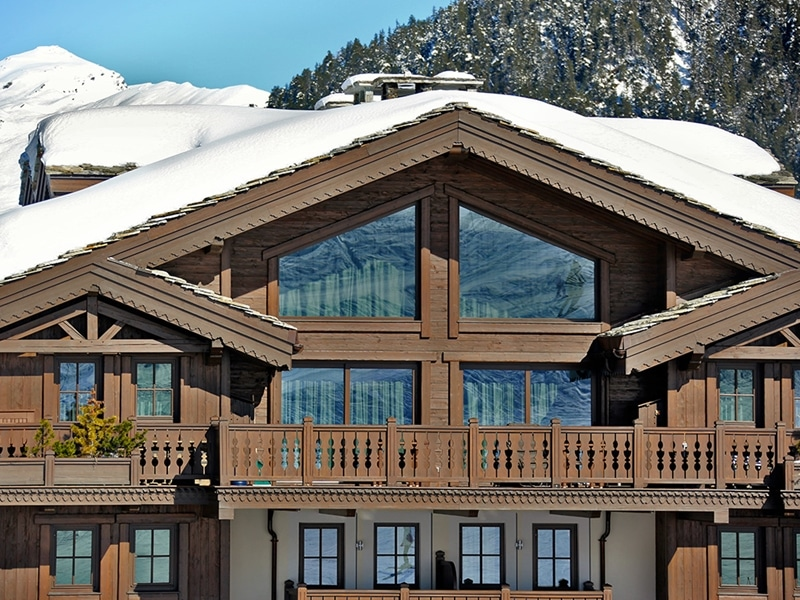 Courchevel architecture