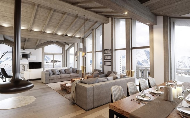 luxury ski property