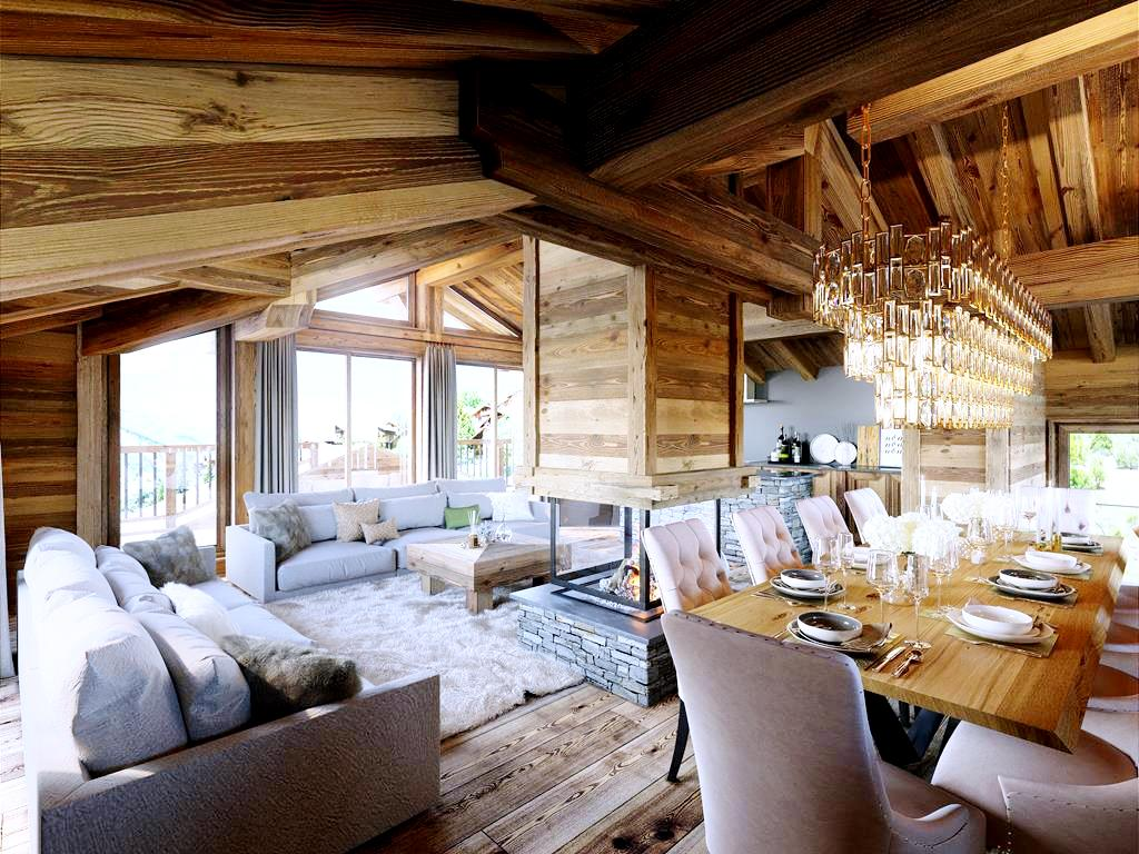 Six Ski Chalets For Sale In Saint Martin de Belleville