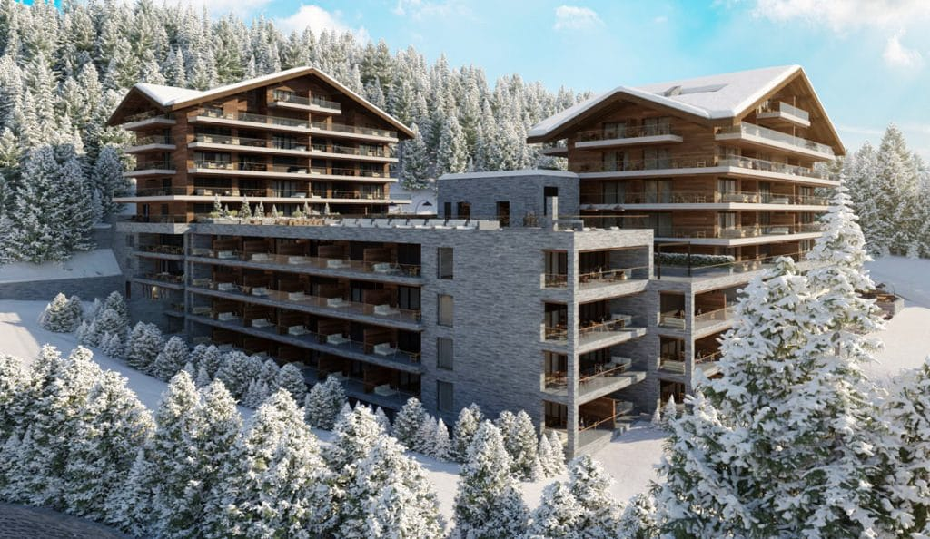 Ski Apartments For Sale In Crans Montana, Switzerland
