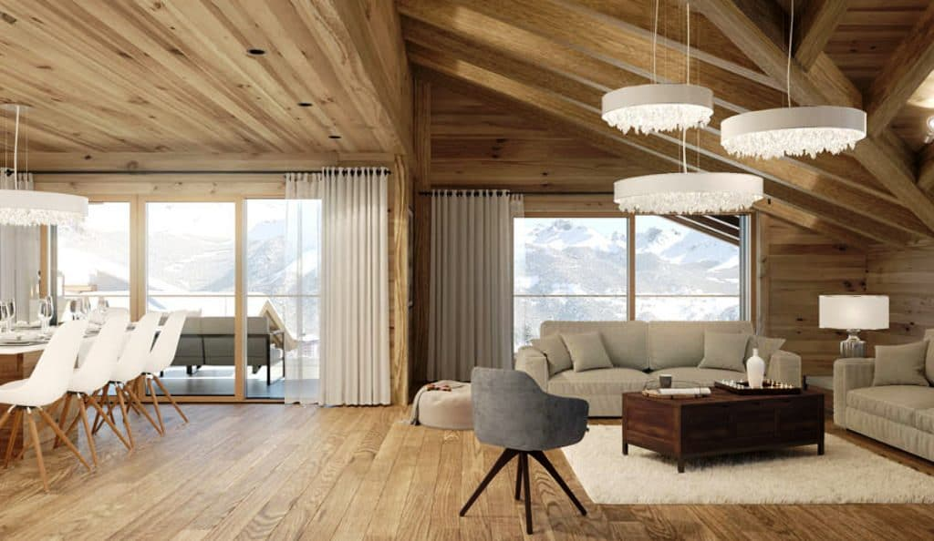 Three Bedroom Ski Apartments For Sale In Six Senses, Crans Montana, Switzerland