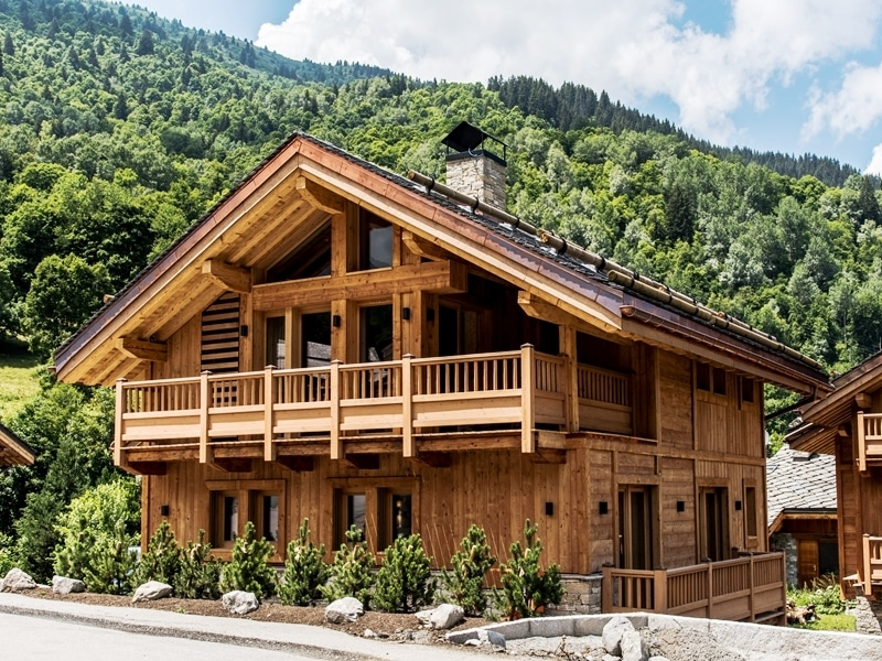 Alpine property in France