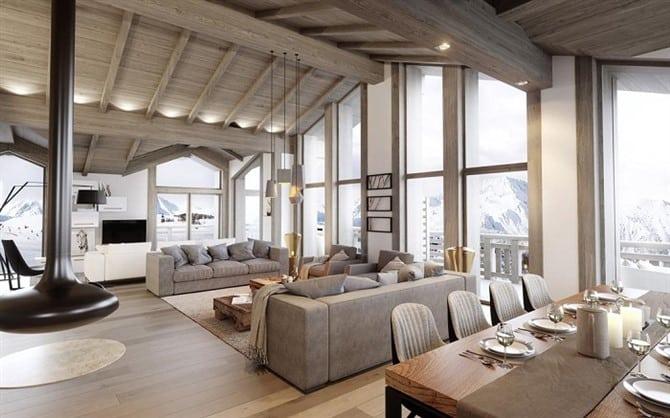 ski real estate in france