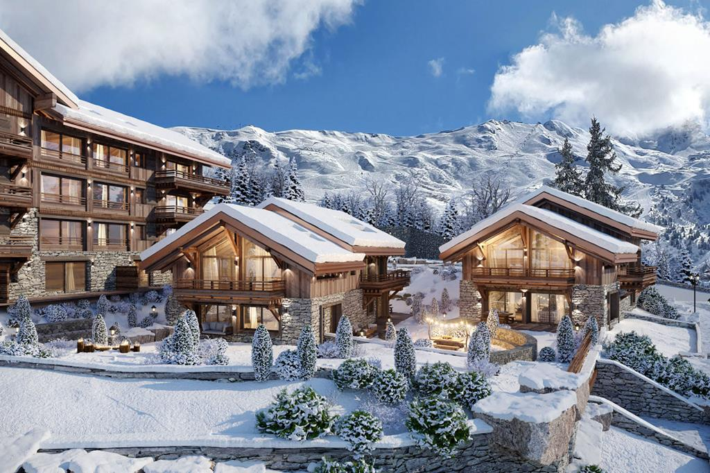 Mountain View Chalets For Sale In Meribel