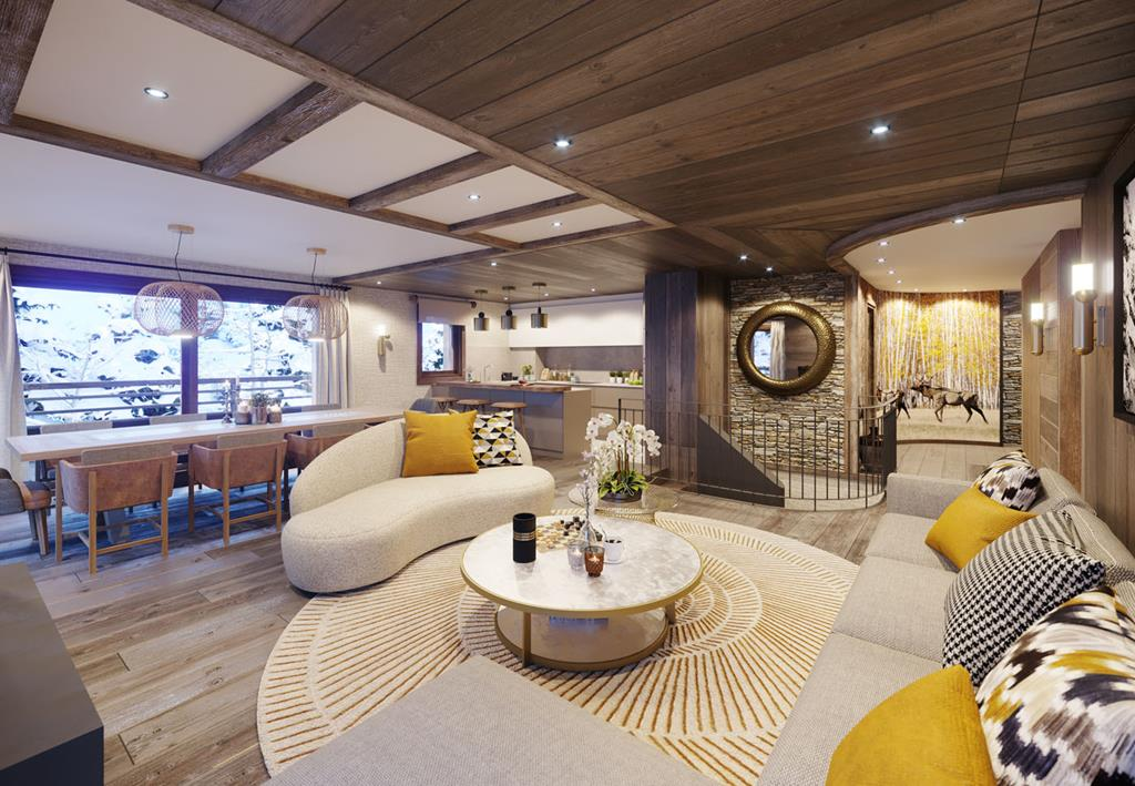 Mountain View Apartments For Sale In Meribel | Skiing ...