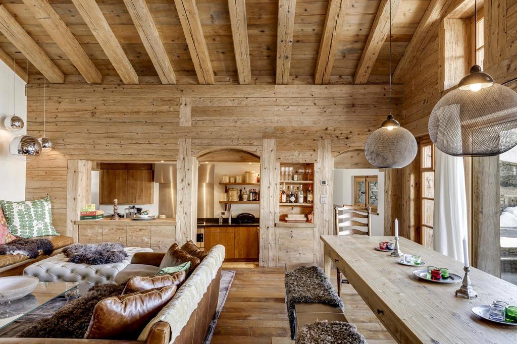 luxury chalets in Switzerland