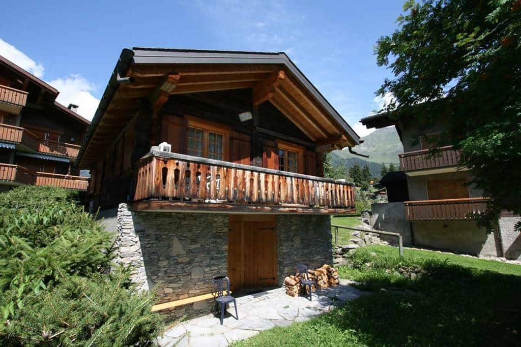 rustic luxury ski chalet