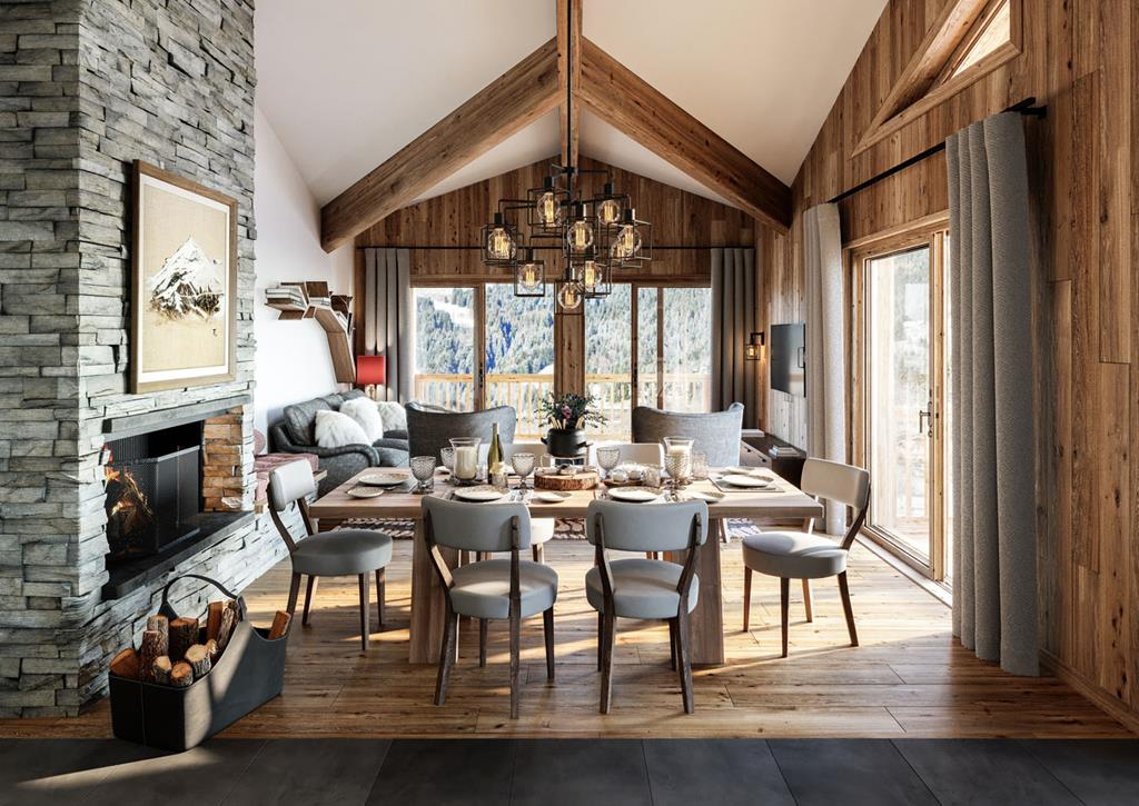 Ski-in Ski-out Properties for sale In Les Gets