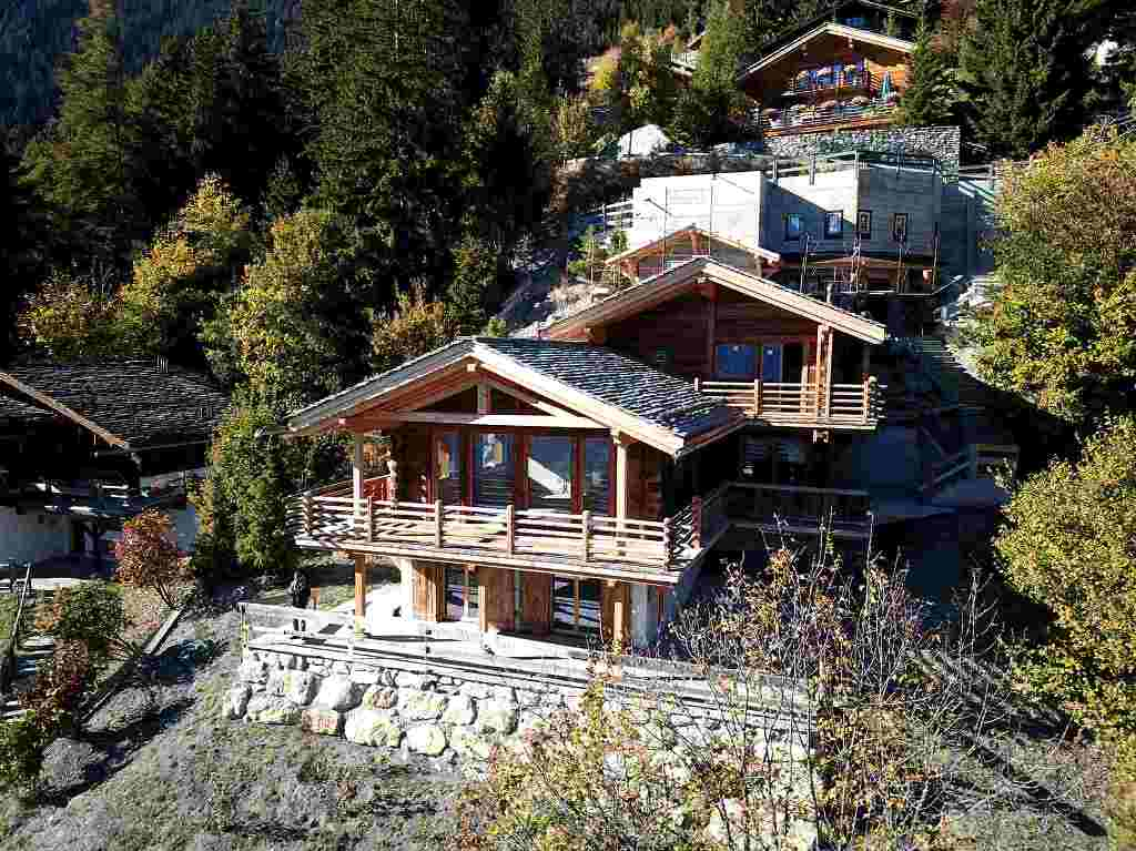 Mountain View Chalet For Sale In Verbier