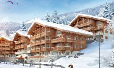 New Build Ski Apartments, Five Minutes From The Super Chatel