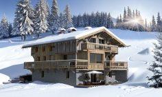 New Build Ski-In Ski-Out Chalets For Sale In Megève