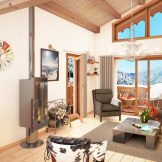Panoramic View Ski Apartments For Sale In Chatel