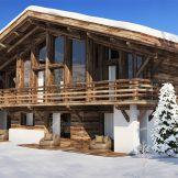 New Build Ski Chalets For Sale In Praz Sur Arly