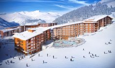 Two Bedroom Leaseback Apartments For Sale In Les Arcs, Edenarc 1800
