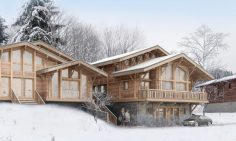 Four Bedroom Ski-in Ski-out Apartment For Sale In Les Gets