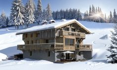 New Build Ski-In Ski-Out Chalets For Sale In Megève