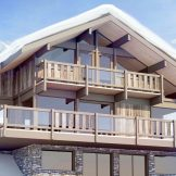 New Build Ski Chalets For Sale In Saint Gervais