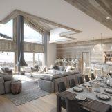 Renovated Ski Apartments For Sale In Courchevel 1650