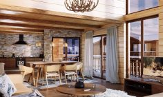 Four Bedroom Ski Apartments For Sale In Combloux