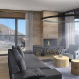 Central Ski-in Ski-out Apartments For Sale In Chatel