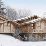 Four Bedroom Ski-in Ski-out Chalet For Sale In Les Gets