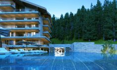 Three Bedroom Ski Apartments For Sale In Crans Montana, Switzerland