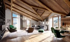 Four Bedroom Ski Chalets For Sale in Les Gets