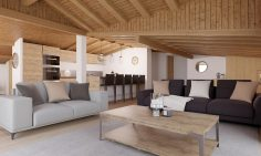 Four Bedroom Ski Apartments In Bettex, Les Menuires