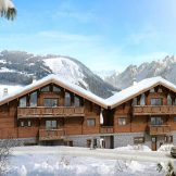 Ski-In, Ski-Out Mountain View Chalets For Sale In Chatel