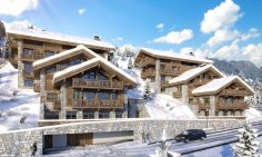 Four Bedroom Mountain View Ski Apartments For Sale In Meribel