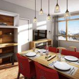 Two Bedroom Leaseback Apartments For Sale In Les Arcs, Edenarc 1800