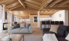 Three Bedroom Ski Apartments In Bettex, Les Menuires