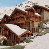 Five Bedroom Ski Residence For Sale In Saint Martin de Belleville