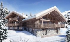 Two Prime Location Ski Chalets For Sale Meribel